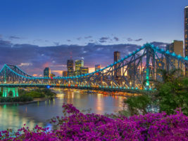 Photo of the Story Bridge in Brisbane