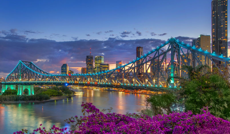 Photo of the Story Bridge in Brisbane